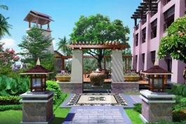 济南酒店景观元素设计装修的配置