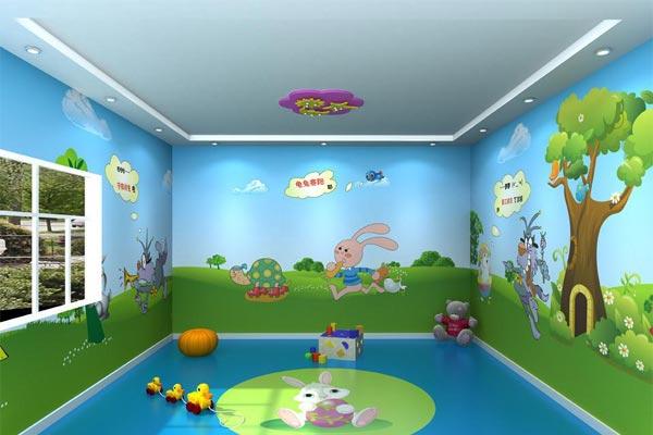 济南幼儿园设计中彩绘有什么作用?