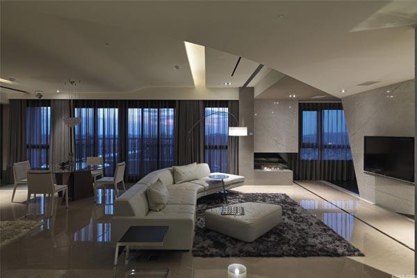 别墅民宿室内简约设计中自然色的应用及色彩的调和