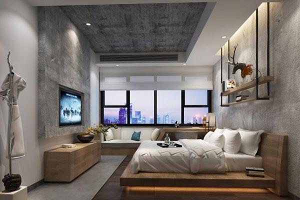 别墅民宿室内福建11选5助手设计中色彩在不同功能区的配置