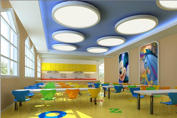 济南幼儿园空间设计有哪些自由性原则?