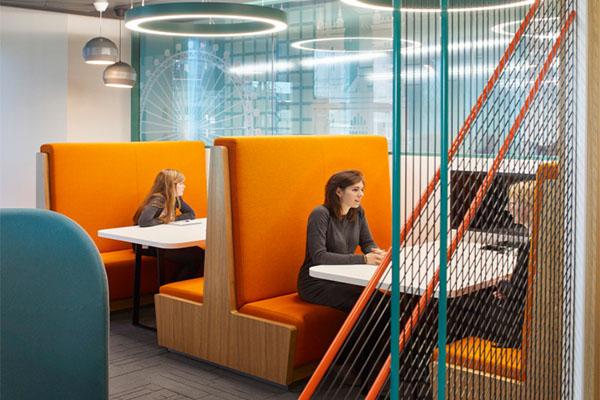 济南办公室装修色彩搭配设计的选择
