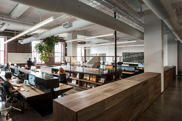 济南办公室设计装修中会经常用到哪些隔断材料?