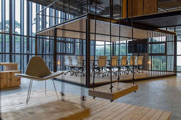 济南办公室装修设计所具备的特色