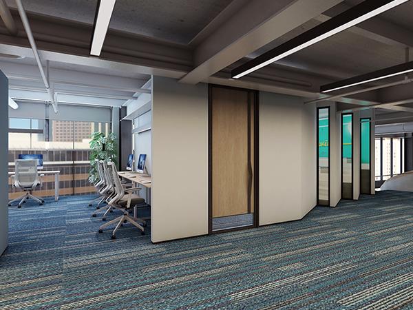 「济南办公室装修」常用的办公隔断类型有哪些